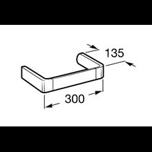 Porta asciugamano bidet 30cm Select Roca