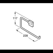 Anello porta asciugamano Rubik Roca