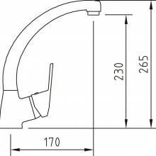 Rubinetto miscelatore S12 per lavello