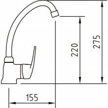 Rubinetto miscelatore PANAM Xtreme 1