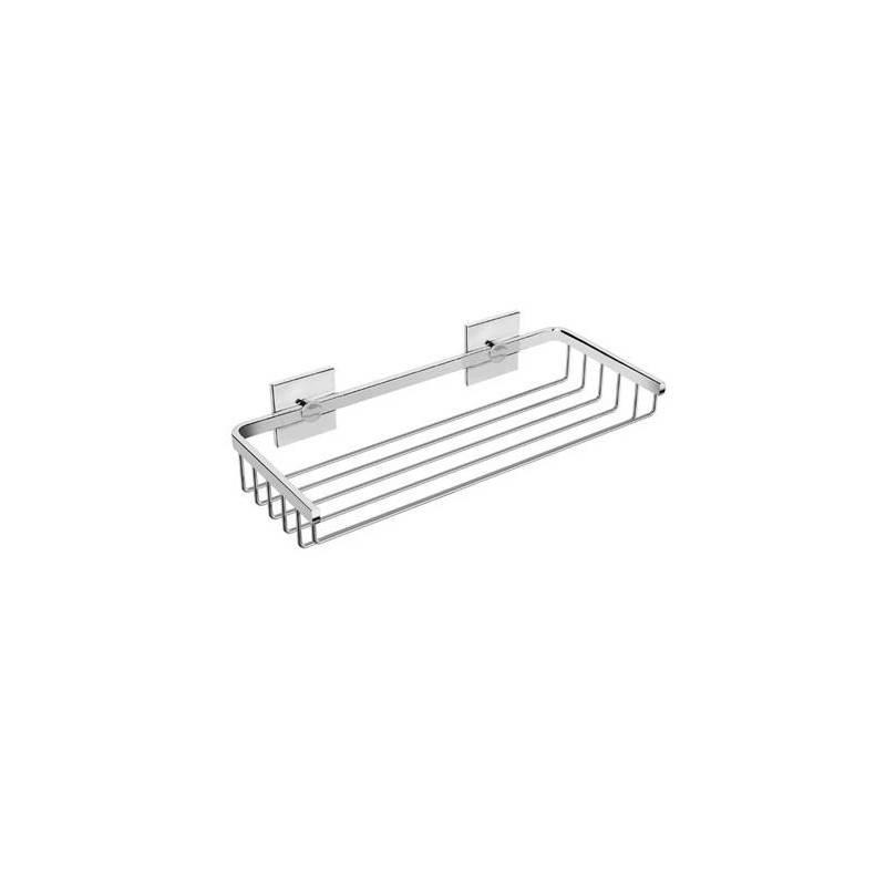 Mensola a griglia doppio supporto Duo square BATH+