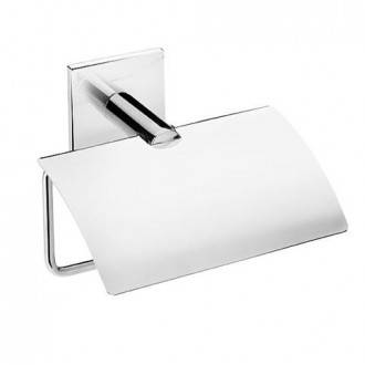 Porta carta igienica con coperchio  Duo Square BATH+