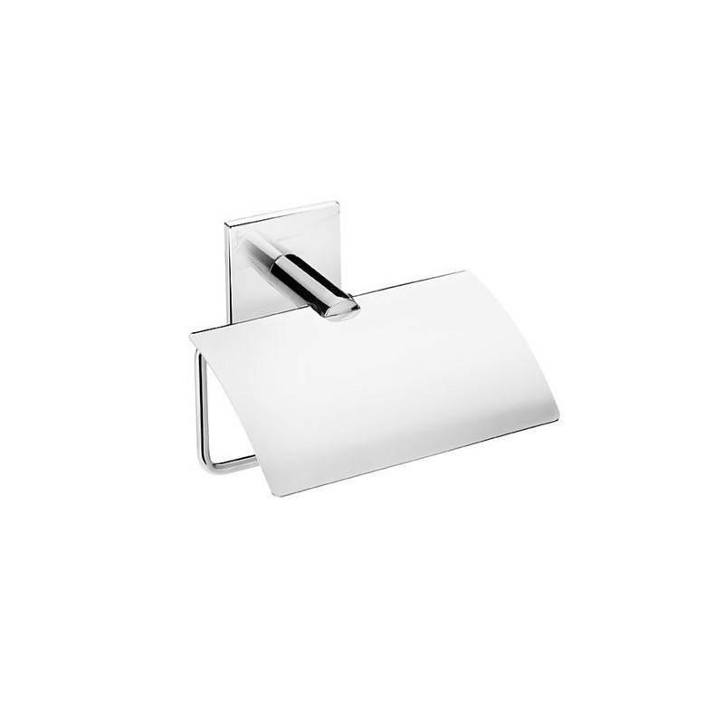 Porta carta igienica con coperchio Duo Square BATH+