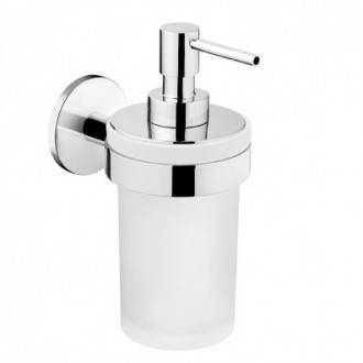 Dispenser in vetro Duo round BATH+