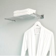 Porta asciugamani a mensola Duo Square BATH+