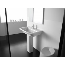 Lavabo con colonna The Gap 60x47cm Roca