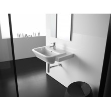 Lavabo semi incasso The Gap 56x40cm Roca
