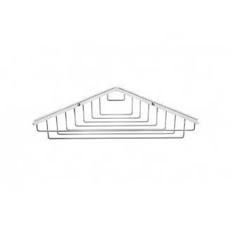 Mensola ad angolo a griglia 25 Container BATH+