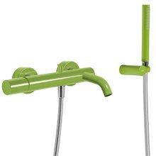 Kit per vasca da bagno - doccia verde TRES STUDY