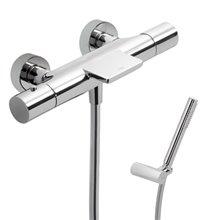 Kit per doccia e vasca da bagno termostatico cascata TRES STUDY