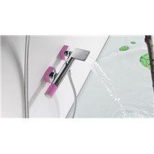 Kit per doccia e vasca da bagno fucsia TRES LOFT