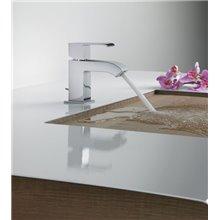 Rubinetto per lavabo con piletta CUADRO-TRES AC