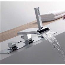 Set per vasca da bagno con cascata CUADRO-TRES