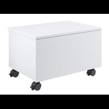 Mobile rotelle 60cm bianco Suma Roca
