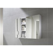 Armadio-specchio 40cm bianco Luna Roca