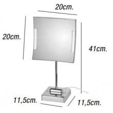 Specchio ingrandente QUADROLO LED 3 KOH-I-NOOR