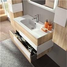 Mobile bagno Rovere/Bianco CRONOS SALGAR