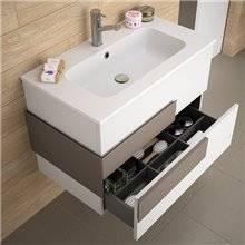 Mobile bagno Moka opaco/griigio antracite CRONOS SALGAR