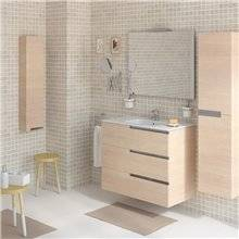 Mobile Pack Family rovere 80cm Victoria-N Roca