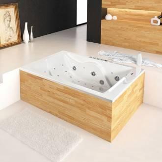 Vasca da bagno acrilica 180 cm Duo Oasis Star