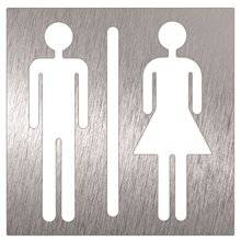 Cartello unisex per bagni Timblau