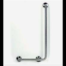 Barra d'appoggio per doccia 90° satinato Timblau