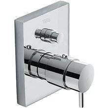 Rubinetto termostatico da incasso per bagno e doccia Compact Tres