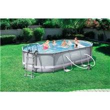 Piscina smontabile ovale 488x305x107 cm Power...
