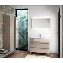 Mobile bagno 101 cm sbiancato 3 cassetti SALGAR FUSSION LINE