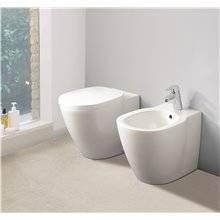 Bidet a pavimento e filo parete CONNECT Ideal...
