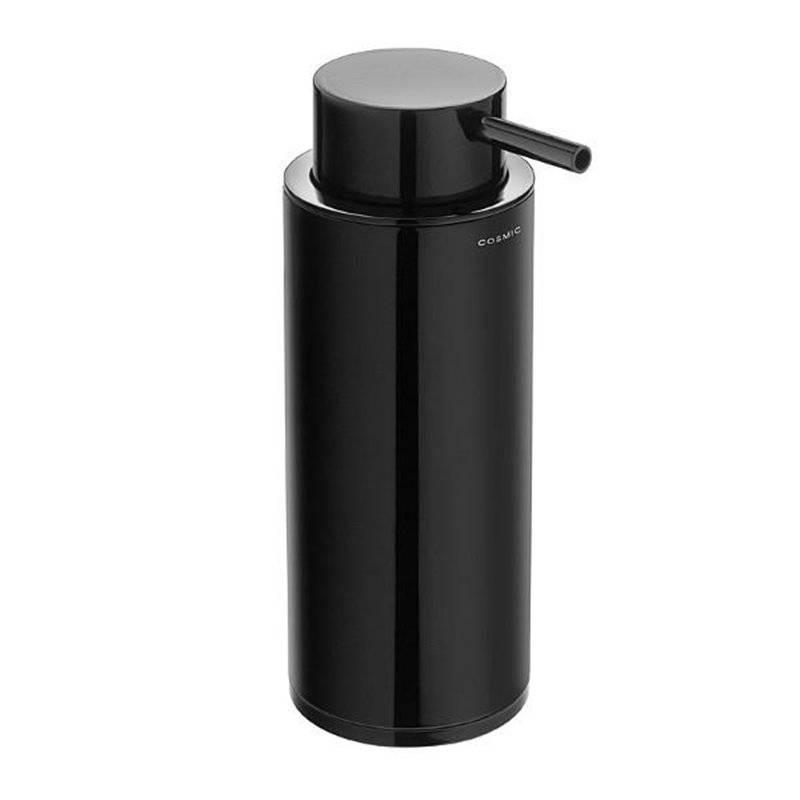 Dispenser sapone nero COSMIC