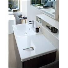 Lavabo asimmetrico sx per mobile 125 P3 Comforts Duravit