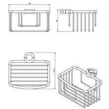 Contenitore cesta Architect COSMIC