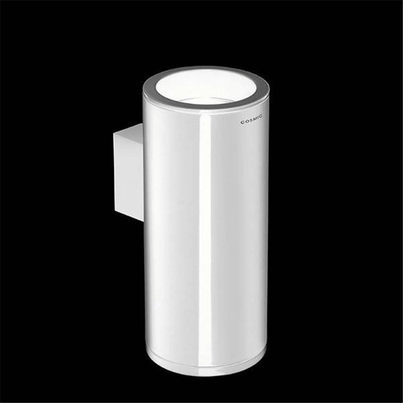Portaspazzolini sospeso bianco/nero COSMIC