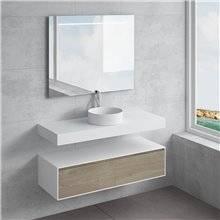 Set ripiano + lavabo ACIS NATUGAMA