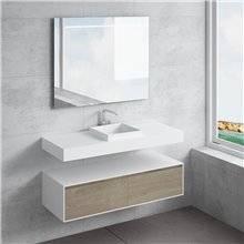Set ripiano + lavabo CAMENA NATUGAMA