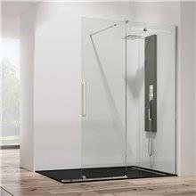 Porta doccia frontale scorrevole VETRUM FREE GME