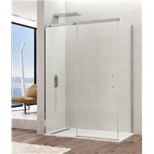 Parete doccia angolare 1 porta scorrevole TEMPLE GME