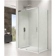 Parete doccia angolare 1 porta scorrevole ROTARY GME
