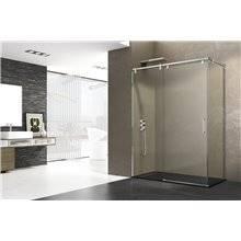 Parete doccia angolare 1 porta scorrevole FUTURA GME