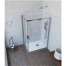 Cabina doccia angolare 2 ante fisse  e 2 porte scorrevoli ORINOCO - Anna Bagno