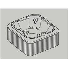 Mini piscina Comfort Mallorca SPA B10