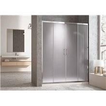 Porta doccia scorrevole Tegler 2+2