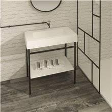 Mobile per bagno con ripiano BARI Resigres