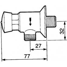 Rubinetto orinatoio PRESTO 12 A