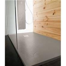 Piatto doccia Natural Ardesia Calcestruzzo - B10