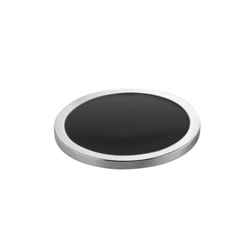 Portasapone nero-cromato Project COSMIC