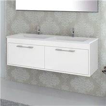 Mobile con lavabo Bianco lucido Florencia TEGLER