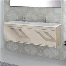 Mobile con lavabo Crema Florencia TEGLER