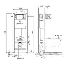 Cassetta a incasso EXPERT EVO Sanitarblock autoportante 820 OLI
